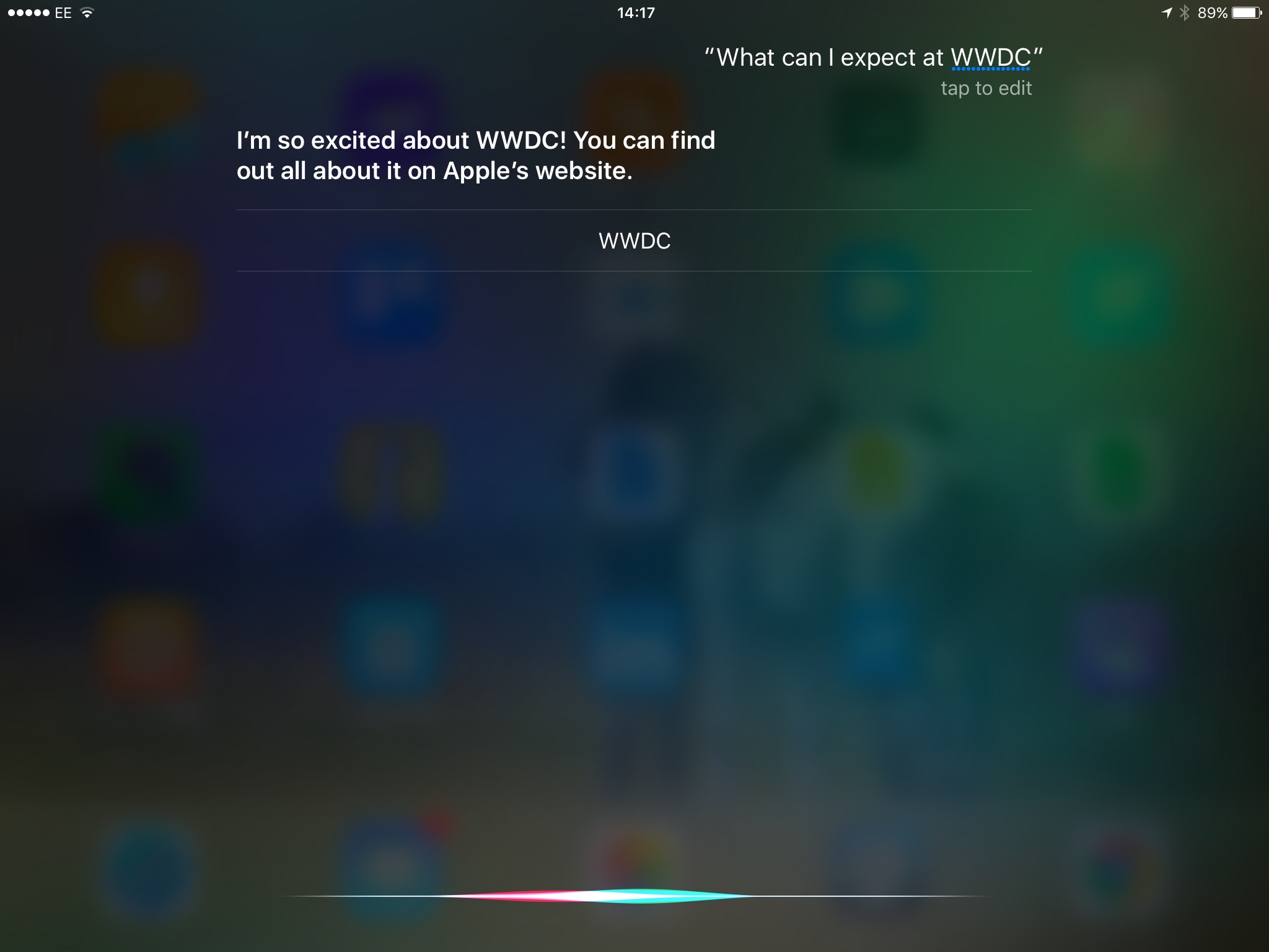 Siri - Apple's Virtual Assistant